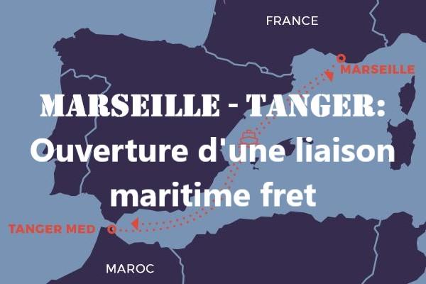 France – Maroc : Marseille-Tanger une liaison maritime fret